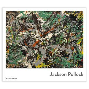 Jackson Pollock: Untitled (Green Silver) Poster
