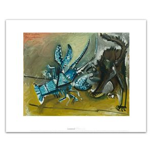 Pablo Picasso: Lobster and Cat 16