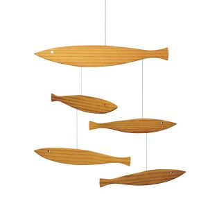 Floating Fish Mobile by Flensted