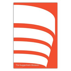 Malcolm Grear Designers:  The Guggenheim Museum Poster