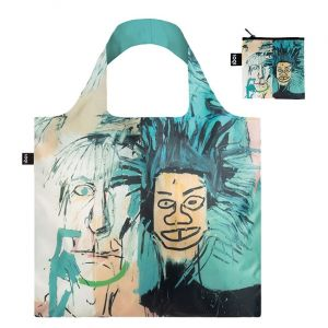 Jean-Michel Basquiat Folding Tote Bag, Warhol
